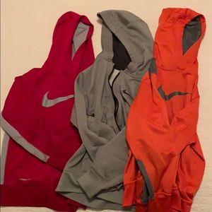 3 Boys Nike Hoodies